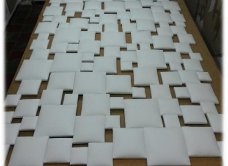 Cabecero de diseño tapizado